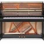 Imagen piano vertical BÖSENDORFER modelo 120 CL vista interior