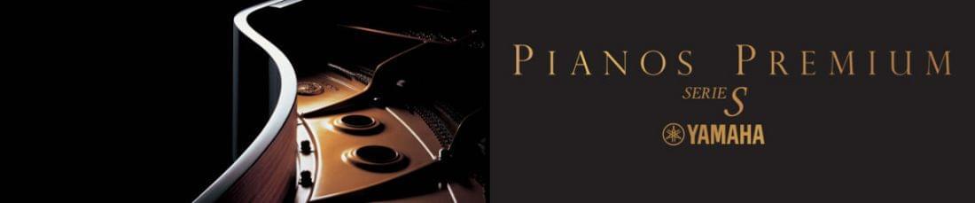 Imagen promocional pianos de cola artesanales  YAMAHA PREMIUM S Series