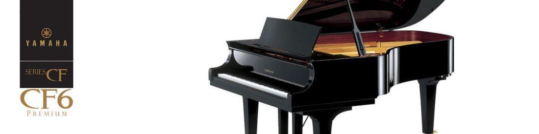 Imagen piano de cola artesanal YAMAHA premium CF Series. Modelo CF6