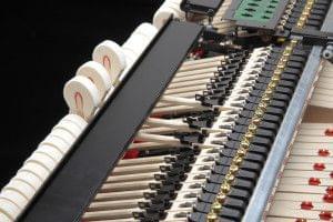 Imagen funcionamiento interno del sistema Anytime X instalado en un piano KAWAI