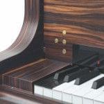 Imagen detalle de los botones del panel de control del sistema CEUS instalado en un piano BÖSENDORFER