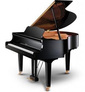 Piano de cola KC151 color negro