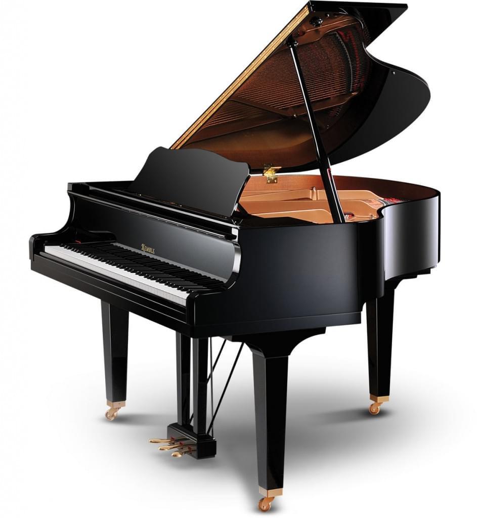 Piano de cola KEMBLE KC151 color negro