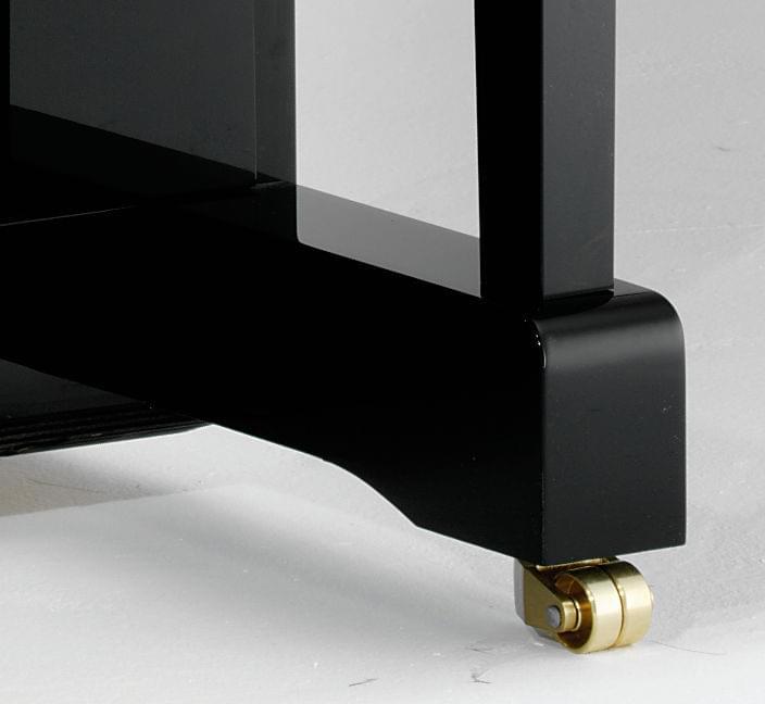 Detalle rueda piano KEMBLE colección Family modelo Classic T