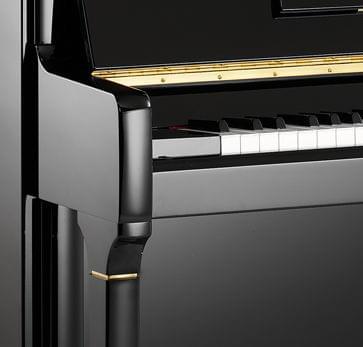 Detalle piano KEMBLE colección Family modelo Concerto