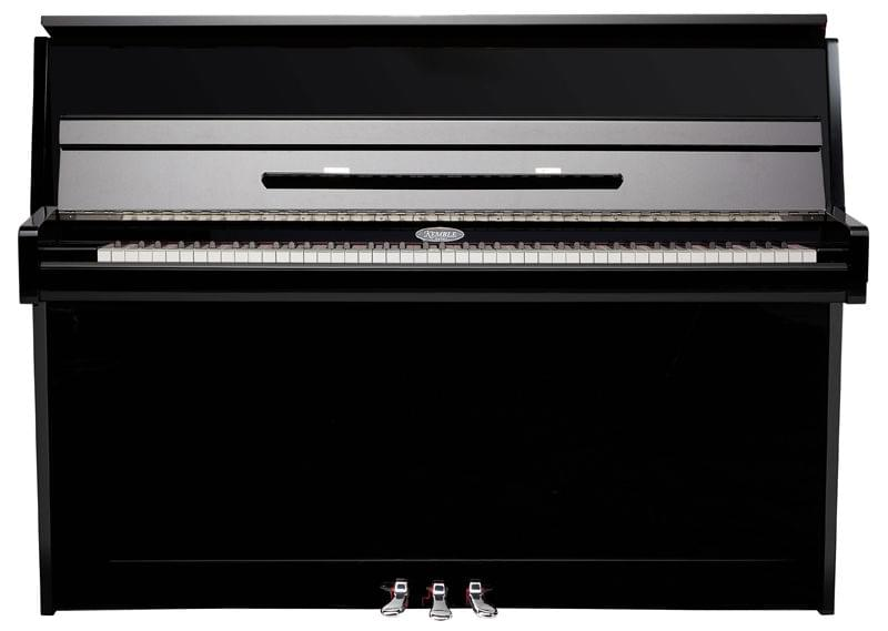 Vista frontal piano vertical KEMBLE colección Preludio modelo K109