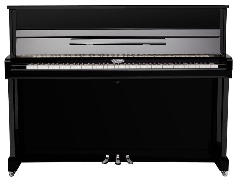 Vista frontal piano vertical KEMBLE colección Preludio modelo K113