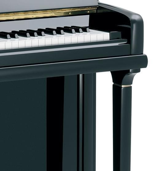Detalle teclado piano KEMBLE colección Profesional modelo Conservatorio