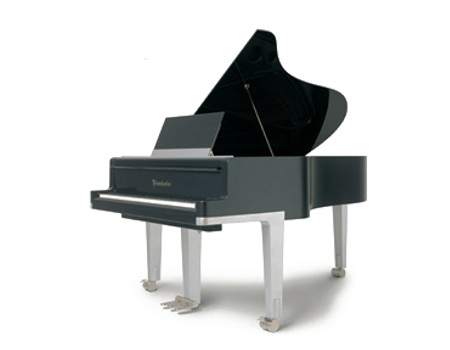 Imatge  piano de cua BÖSENDORFER. Edició especial de disseny Porsche