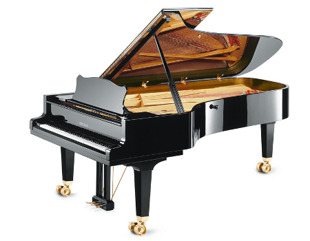 Imatge  piano de cua GROTRIAN. Model de concert Royal G