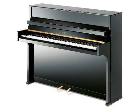 Imatge  piano vertical GROTRIAN. Model Canto G