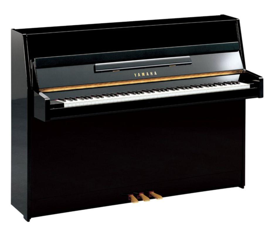 Imagen piano vertical YAMAHA. B Series model B1 color negro pulido