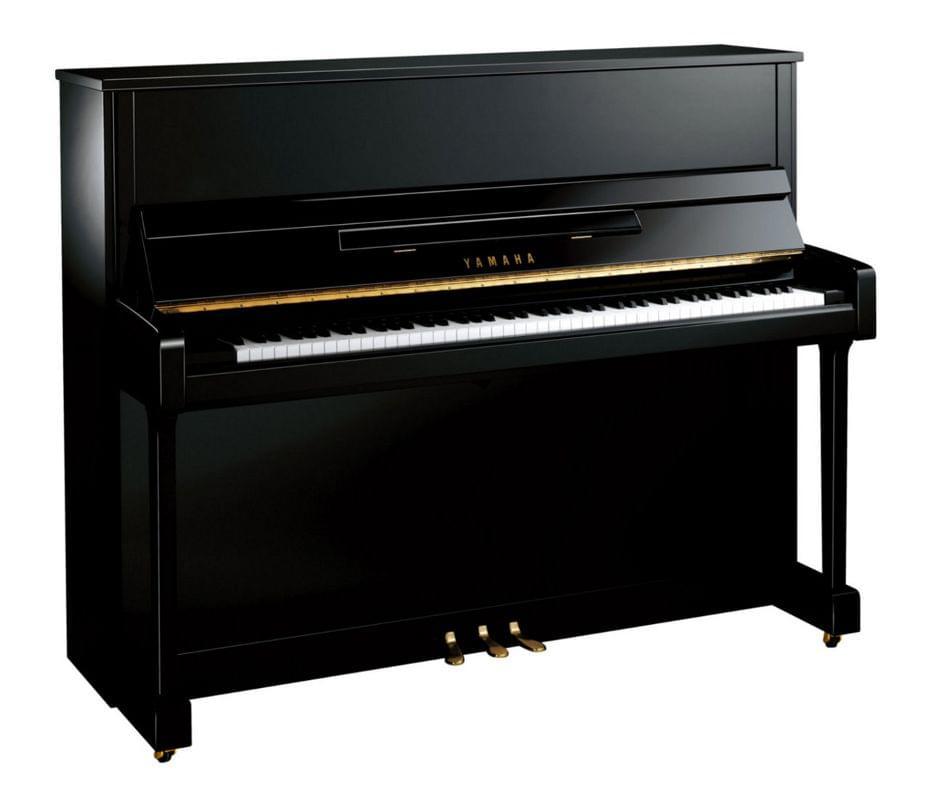 Piano vertical YAMAHA. B Series model B3 color negro pulido