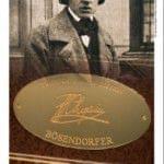 Cartel promocional BÖSENDORFER con Frédéric Chopin
