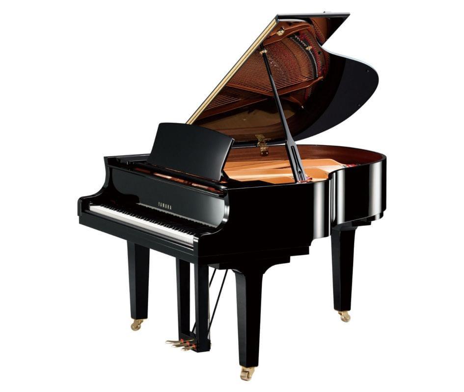 Imagen piano de cola YAMAHA CX Series. Model C1X color negro pulido
