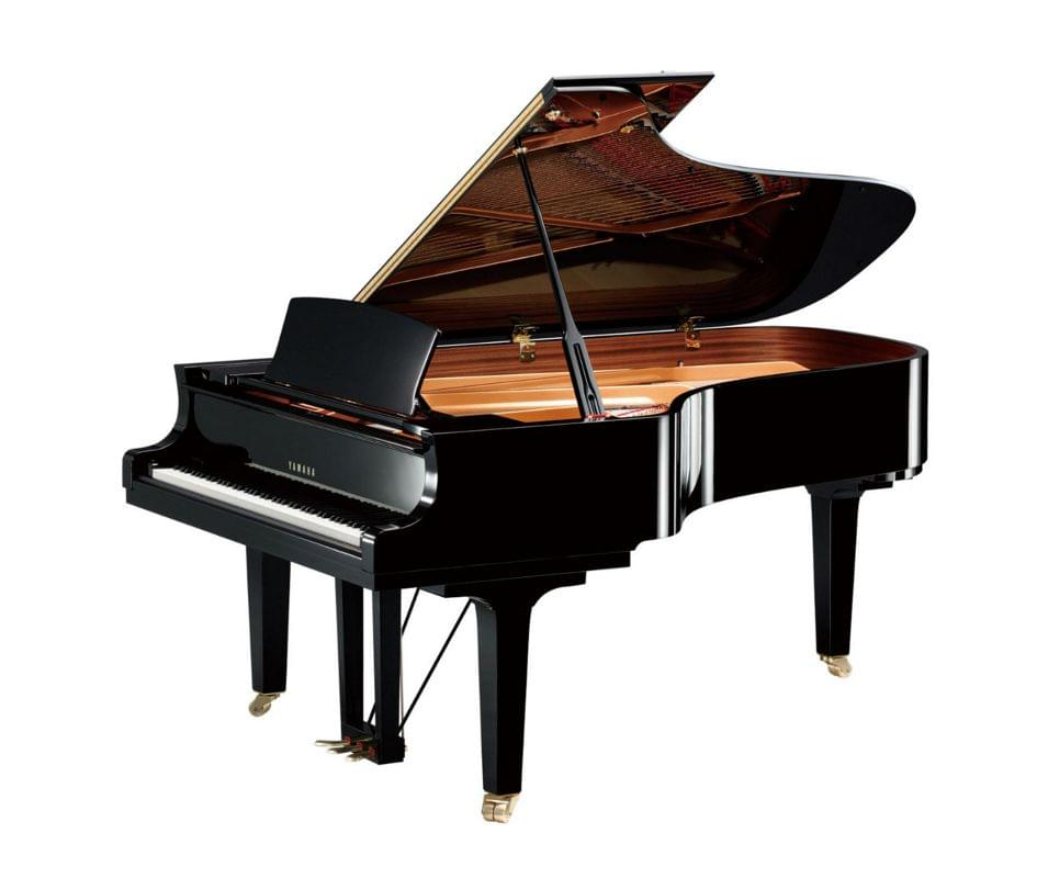 Imagen piano de cola YAMAHA CX Series. Model C7X color negro pulido