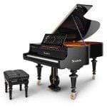 Imagen piano de cola BÖSENDORFER edició limitada aniversario Franz Liszt con banqueta
