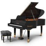 Imagen piano de cola BÖSENDORFER edició limitada Mozart con banqueta