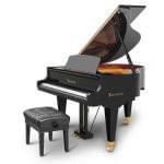 Imagen piano de cola BÖSENDORFER model 155 con banqueta