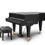 Imagen piano de cola BÖSENDORFER model 170 con banqueta cerrado