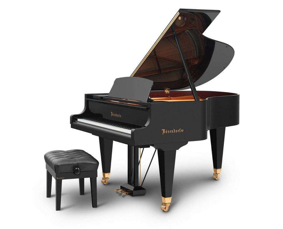 Imagen piano de cola BÖSENDORFER model 170 con banqueta
