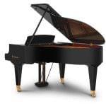 Imagen piano de cola BÖSENDORFER model 170 vista lateral