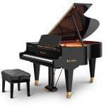Imagen piano de cola BÖSENDORFER model estándar 185 color negro con banqueta
