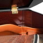 Imagen piano de cola BÖSENDORFER model 185 detalle cierre