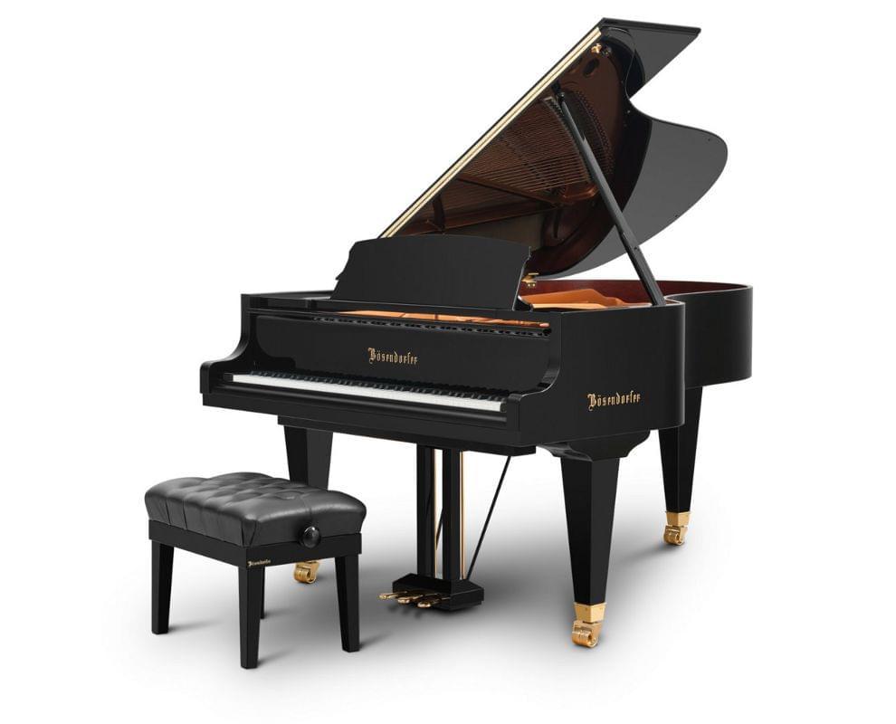 Imagen piano de cola BÖSENDORFER model 200 con banqueta