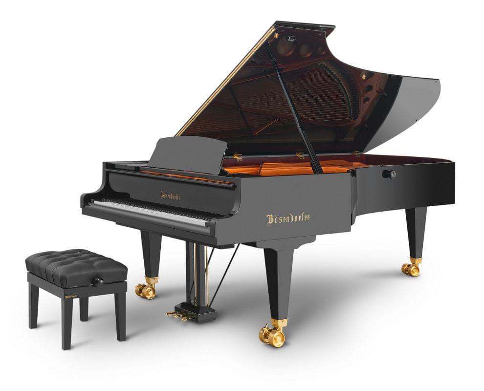 Imagen piano de cola BÖSENDORFER model 290 Imperial con banqueta