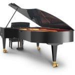 Imagen piano de cola BÖSENDORFER model 290 Imperial vista posterior