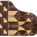 Imagen piano de cola BÖSENDORFER edició limitada Chrysler vista cenital