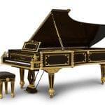 Imagen piano de cola BÖSENDORFER edició limitada Emperor con banqueta