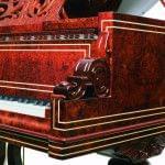 Imagen piano de cola BÖSENDORFER model especial Vienna detalle lateral
