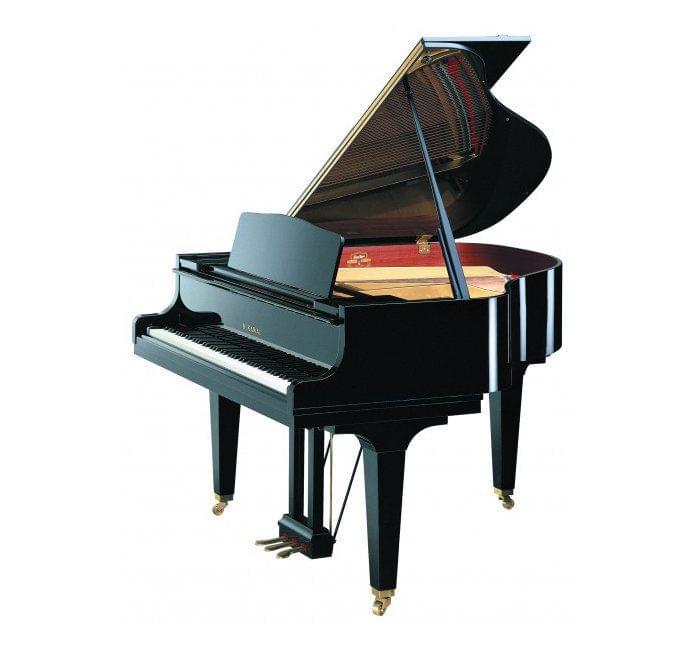Imagen piano de cola KAWAI GE Series model GE-20 acabado negro pulido