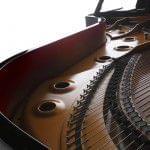 Imagen piano de cola KAWAI GX Series detalle interior
