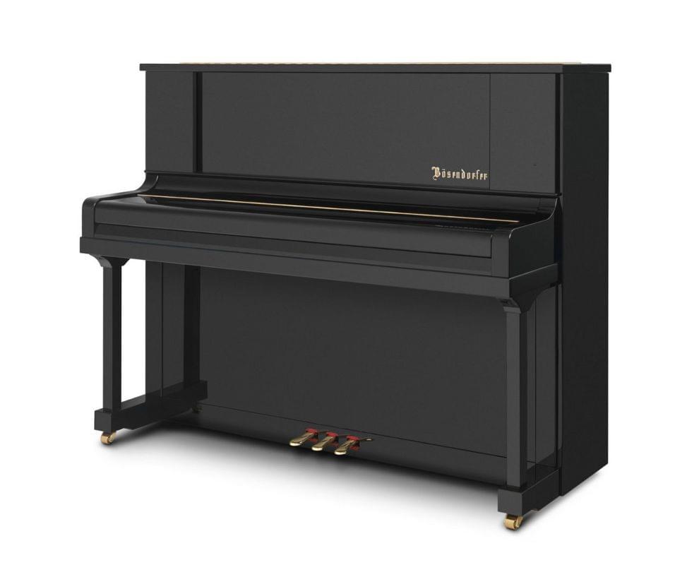 Imagen piano vertical BÖSENDORFER model 120 CL teclado cerrado