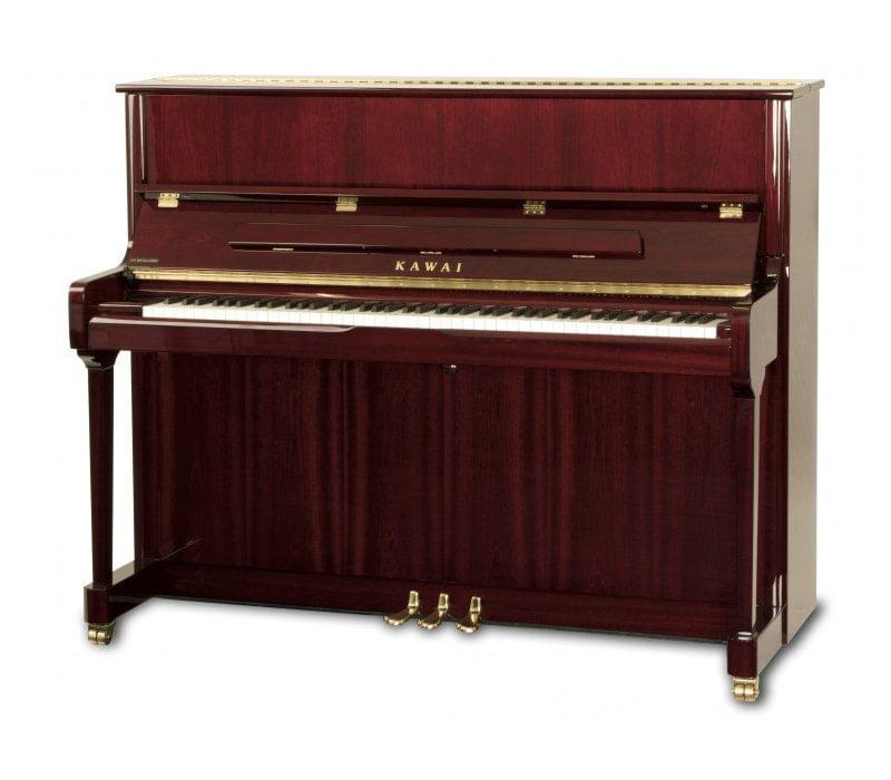 Imagen piano vertical KAWAI K Series model K-3 acabado caoba