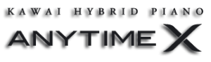 Logo sistema Anytime X de KAWAI