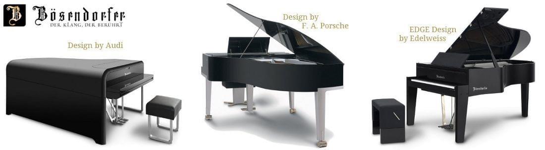 Imagen promocional BOSENDORFER pianos de diseño exclusivos