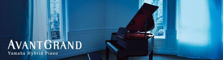Imagen promocional YAMAHA piano hibrido Avantgrand model N3