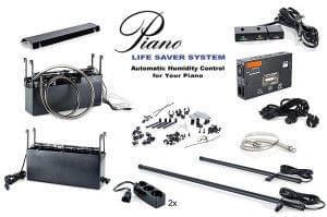 Mantenimiento, Piano life saver, sistema de control de la humedad. Detalle piezas