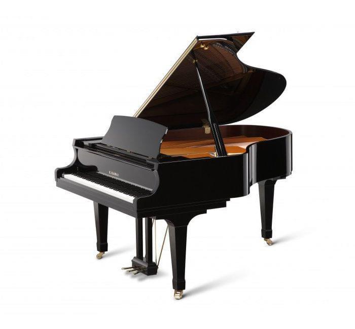 Imagen piano de cola KAWAI GX Series model GX-3 acabado negro pulido