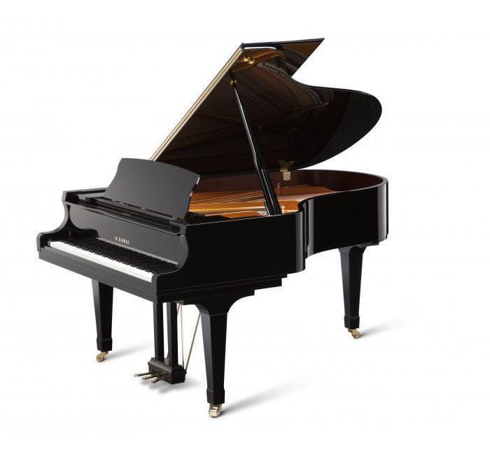 Imagen piano de cola KAWAI GX Series model GX-5 acabado negro pulido