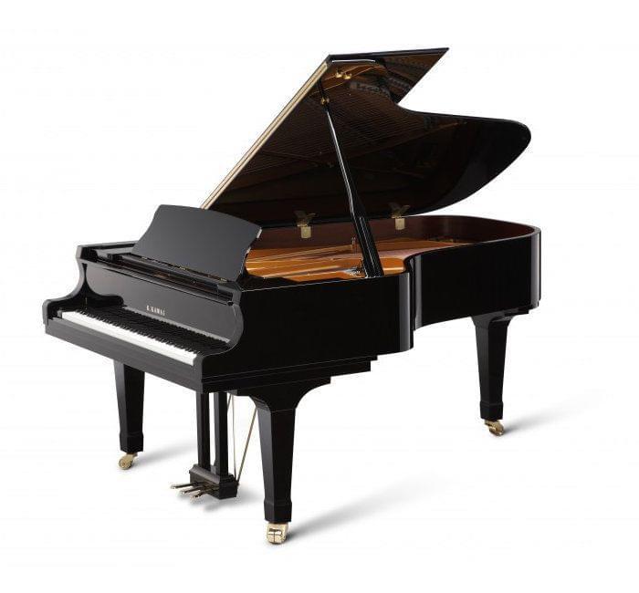 Imagen piano de cola KAWAI GX Series model GX-6 acabado negro pulido