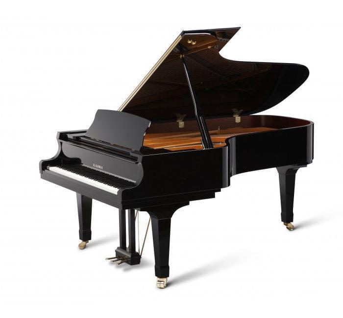 Imagen piano de cola KAWAI GX Series model GX-7 acabado negro pulido