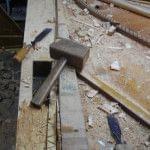 Imagen de la restauración de un piano vertical Bechstein en el taller de Corrales Pianos. 04