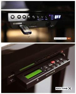 Sistemas digitales para pianos. Sistema Silent: YAMAHA, GROTRIAN, BÖSENDORFER Sistema Anytime: KAWAI
